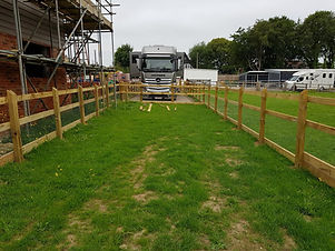 Equestrian Post & Rail