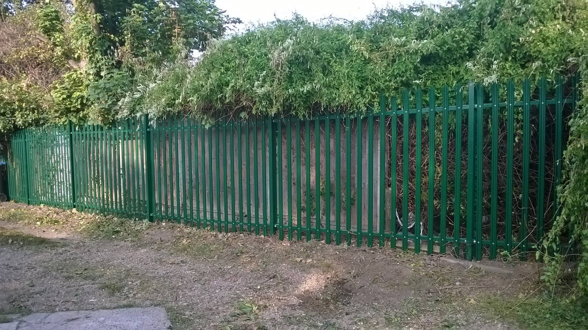 Green Steel Palisade