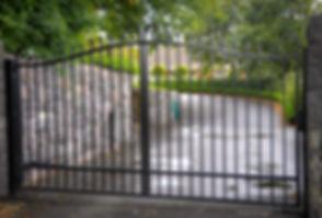 GWRIR06-Fence-Gate-Custom-Wrought-Iron-A