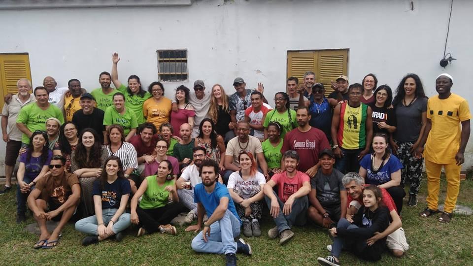 25 Encontro com os Grupos Côco de Zambê