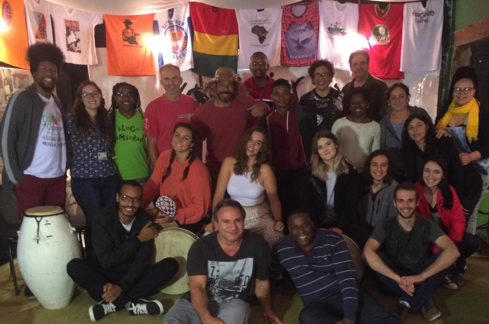 23 Oficina Summer School, grupo que veio