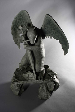 pet rat memorial sculpture