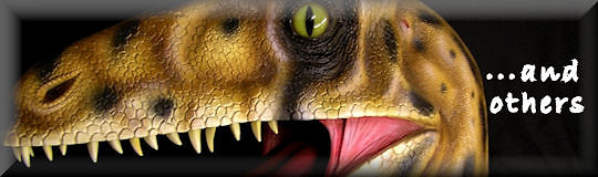 model of  Utahraptor head