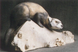 polecat sculpture