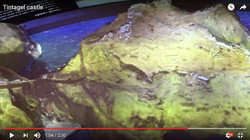 Tintagel projection overlay