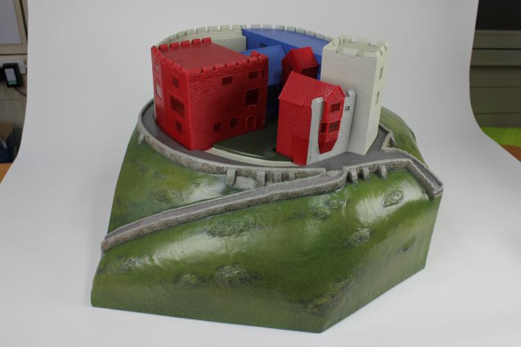 Tamworth Castle interactive model