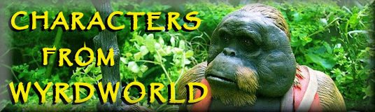 anthropomorphic orangutan - a caracter rom Wyrdworld