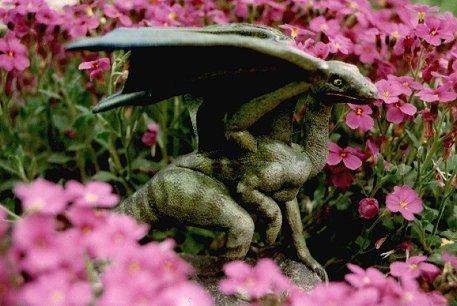 faerie dragon sculpture