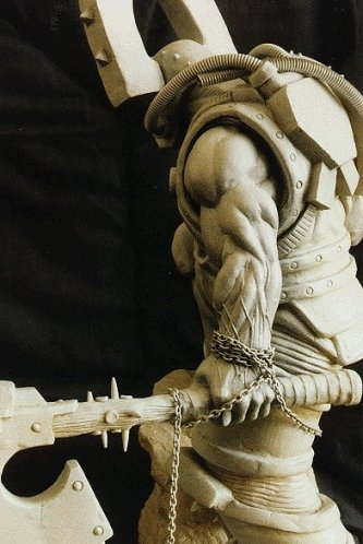kharne the betrayer sculpture