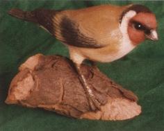 goldfinch sculpture
