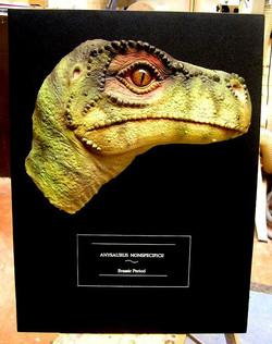 dinosaur sculpture: anysaurus nonspe