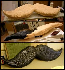 giant moustache