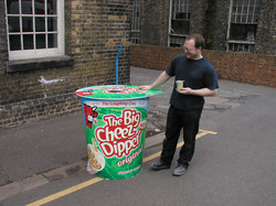 giant cheese dipper