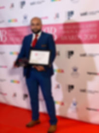 Abdul Aziz Wining Caterer of the Year 20