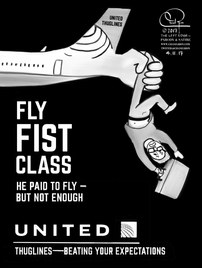 Fly Fist Class United Thuglines