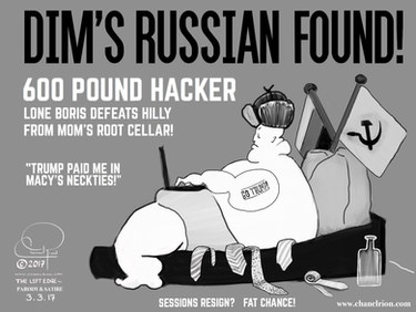 Dim's Russian Found! 600 Pound Hacker - Lone Boris Defeats Hilly From Mom's Root Cellar