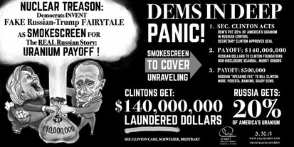Hillary and Russia's Nuclear Treason: Dems In Deep Panic