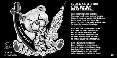 The Teddy Bear Weeper's Memorial