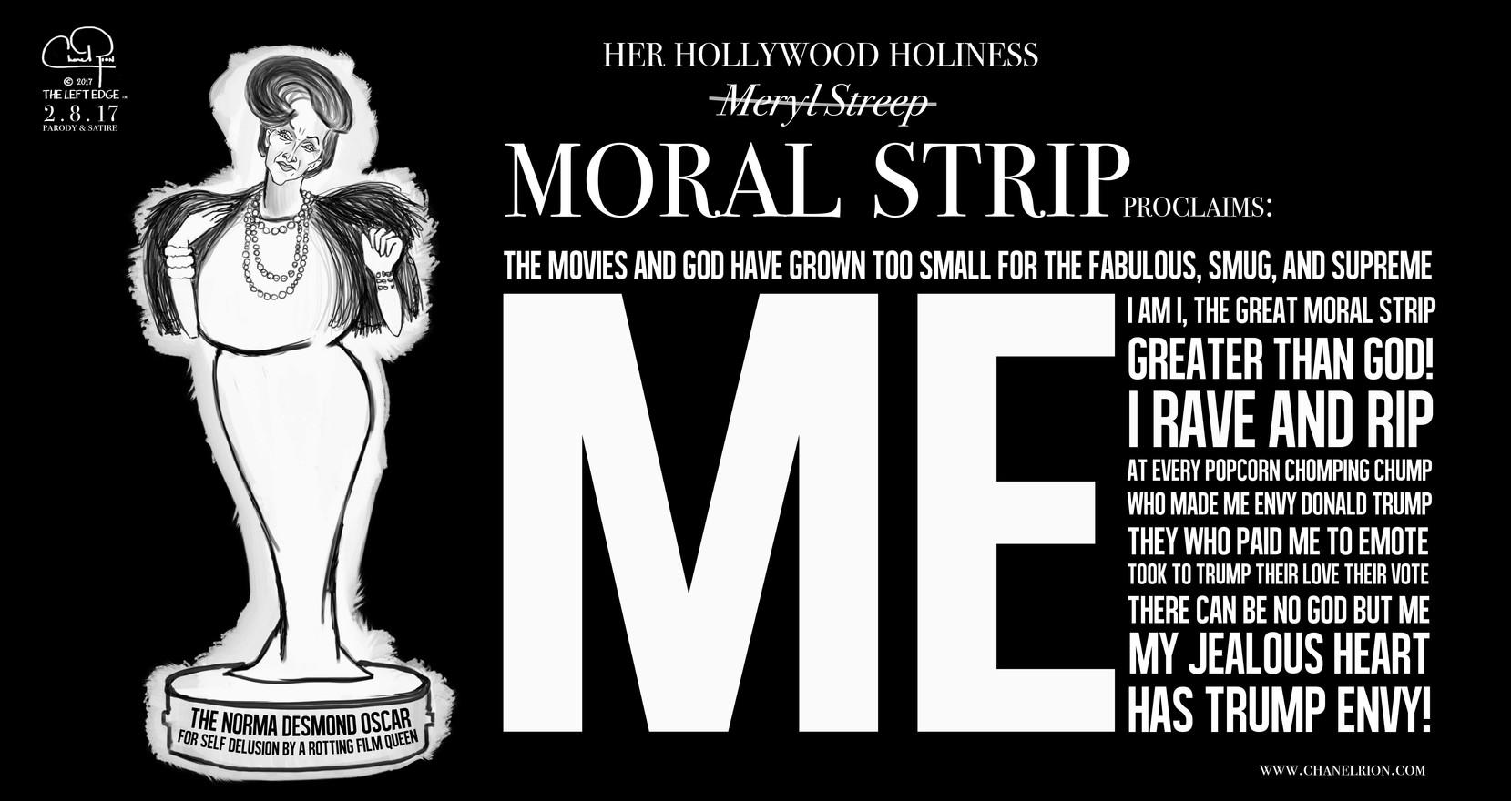 Her Hollywood Holiness Moral Strip