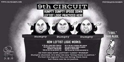 9th Circuit Humpty Dumpty Logic