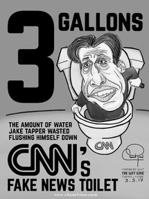 Jake Tapper and CNN's Fake News Toilet