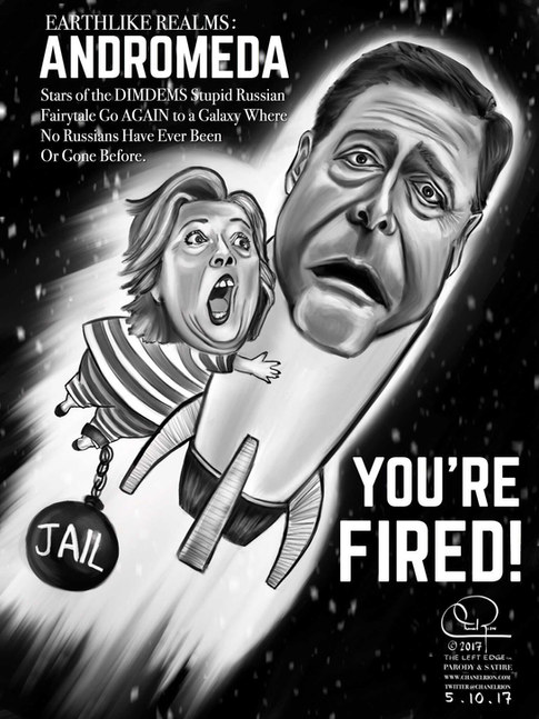 Comey Fired! by Chanel Rion