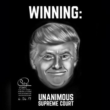 Trump Winning - Unanimous Supreme Court