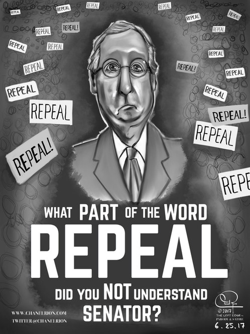 What Part of REPEAL did you NOT UNDERSTAND SENATOR?