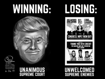 Trump Winning
