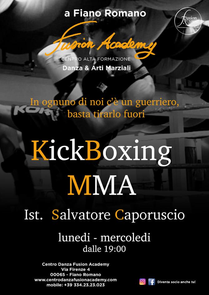 Tornano KickBoxing & MMA alla Fusion Academy