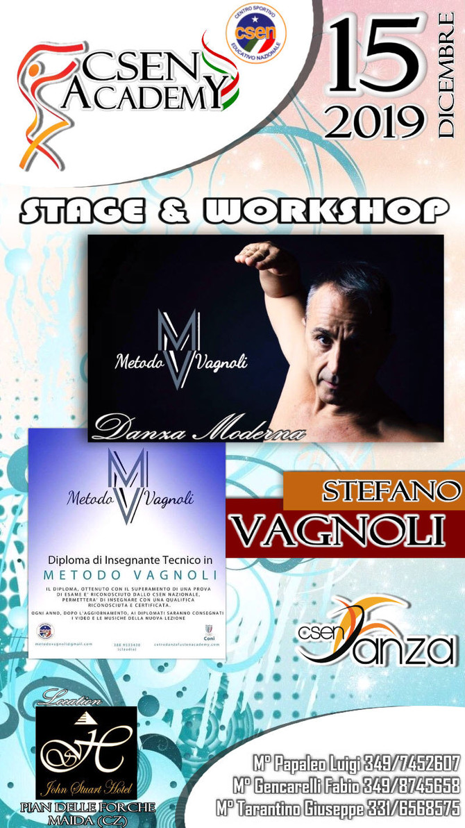 CSEN Academy - Stage & Workshop