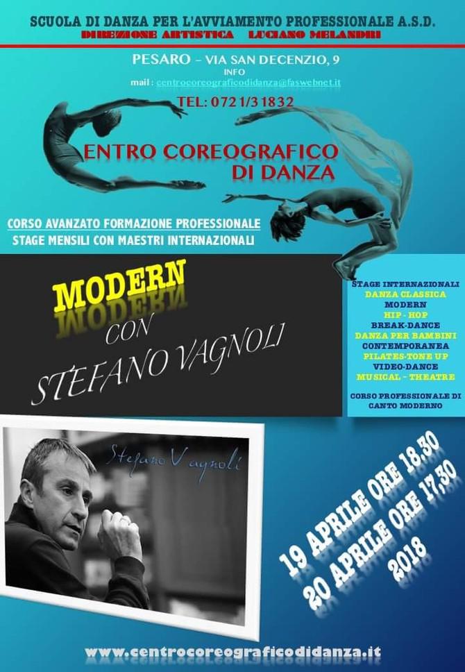 Stage di Modern a Pesaro
