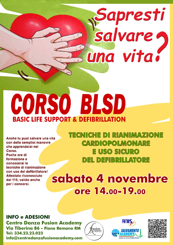 CORSO BLSD - Basic Life Support & Defibrillation