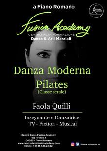 Paola Quilli: Moderno e Pilates