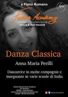 Annamaria Perilli si unisce al corpo insegnati della Fusion Academy