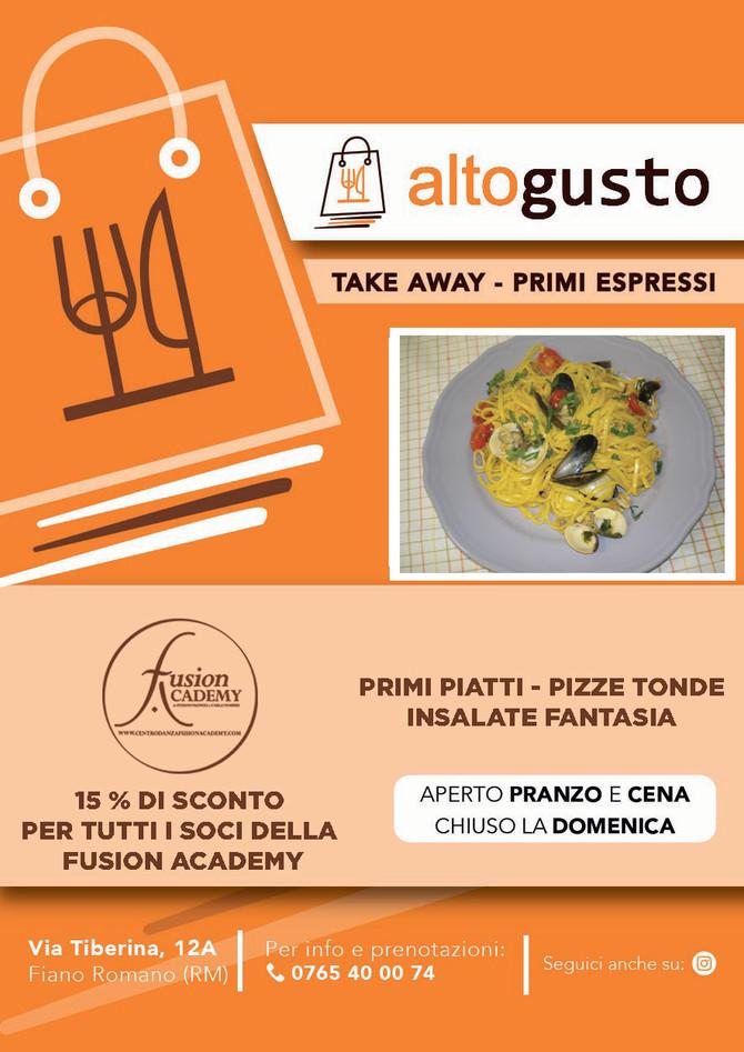Altogusto Fiano Romano - Nuovo partner della Fusion Academy