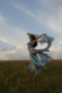 Fotografia della coreografa Loretta Rossi Stuart