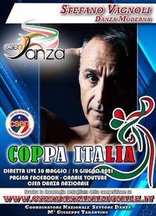 Stefano Vagnoli giudice alla coppa Italia di danza