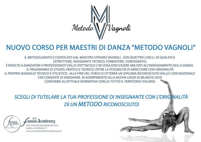 """Corso di abilitazione per maestri di danza """"Metodo Vagnoli"""""""
