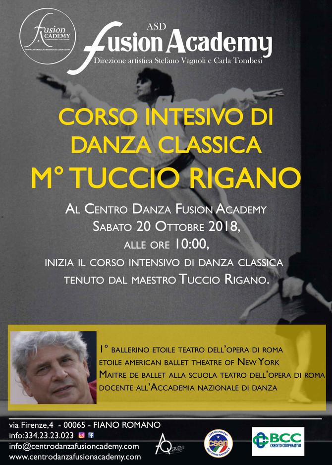Corso intensivo di Danza Classica con il maestro Tuccio Rigano