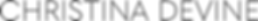 Christina Devine | Logo