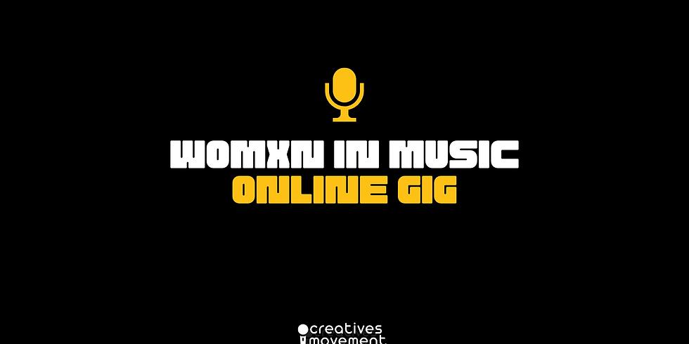 Online Gig Womxn In Music