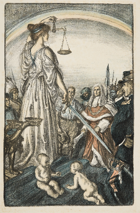 The Reign of Justice via Peoples Collect