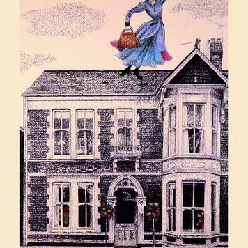 Cardiff House with Mary Poppins