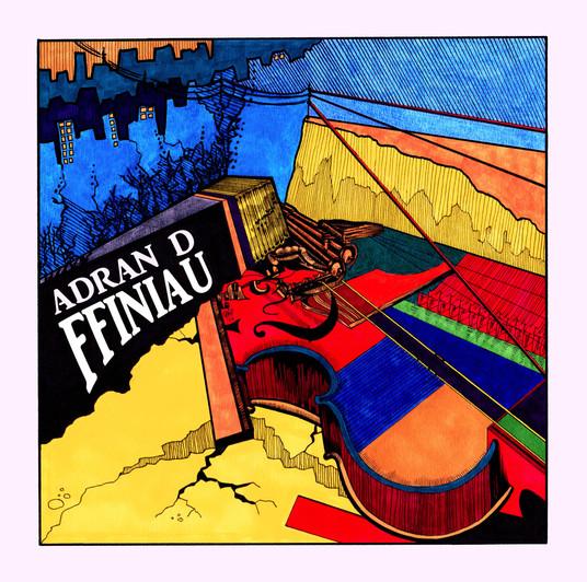 Adran D - Ffiniau Cover Artwork (with lo