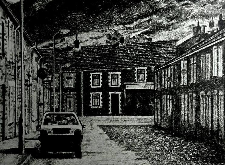 Welsh Valleys - Background Artwork for Leeway Productions Poster