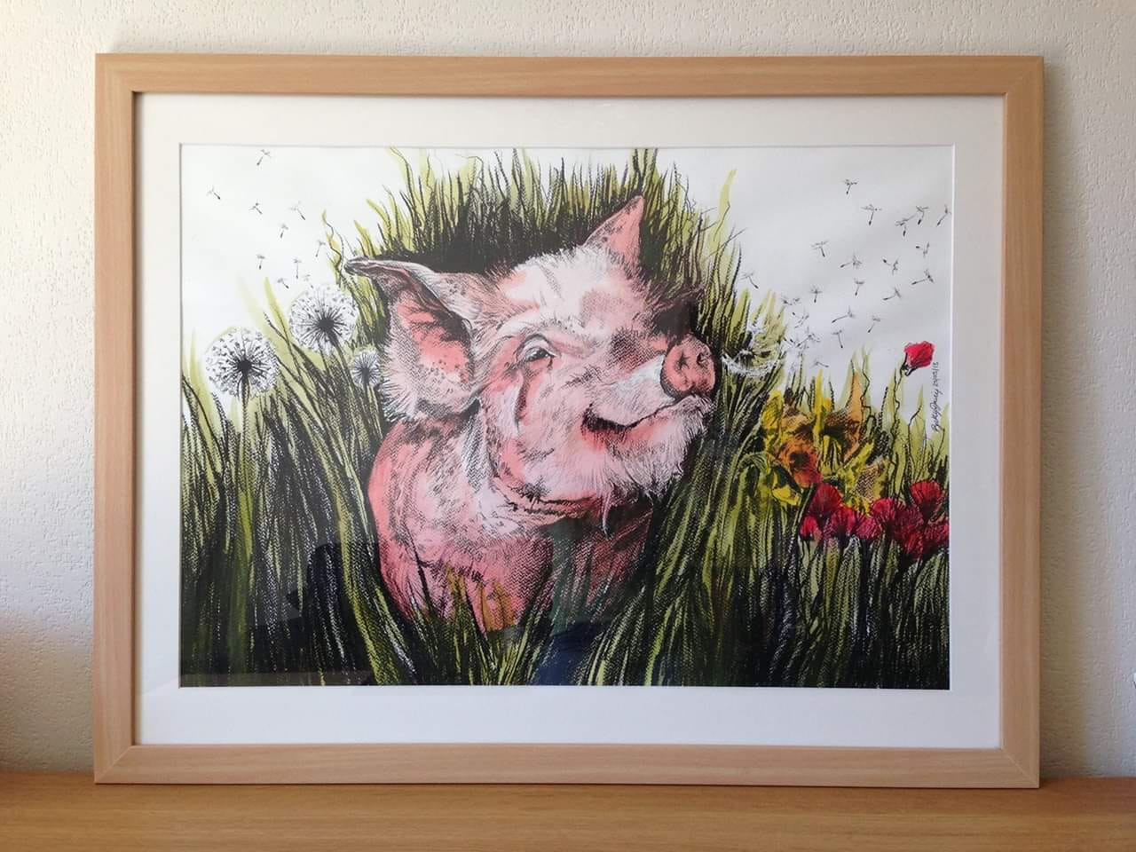 Private Commission - Pig!