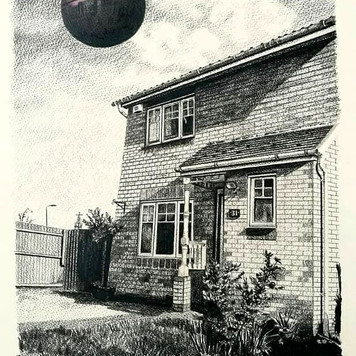 Home on an Estate with the Death Star