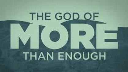 """The God of More than Enough"" CD"