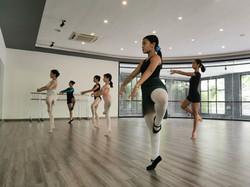 ballet with ms Yuki